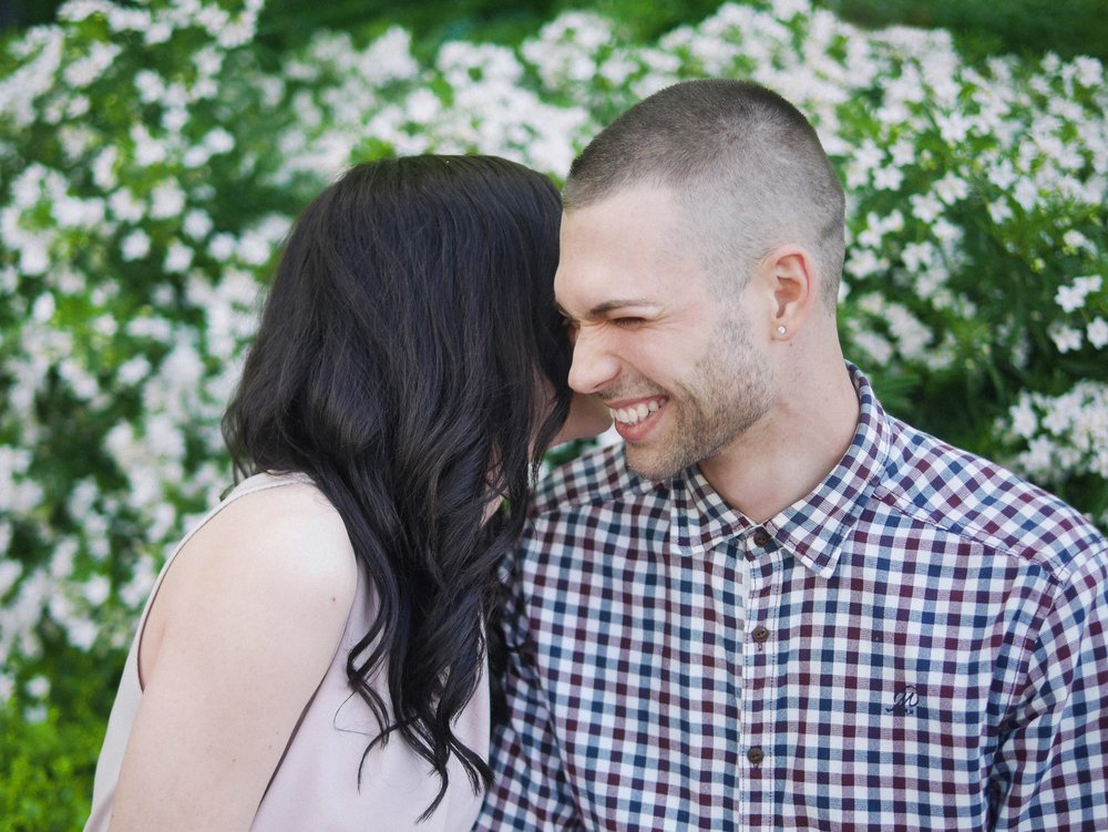 Spring Engagement Photography
