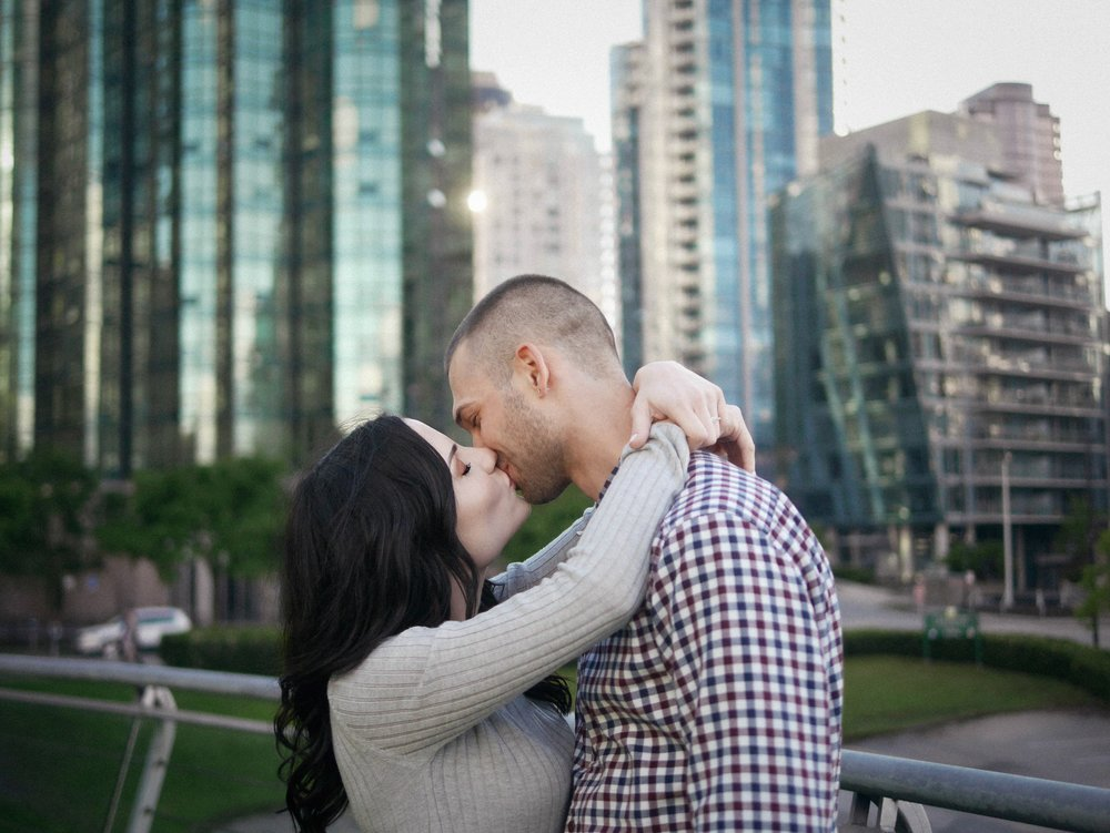 Mackenzie and Nick - Coal Harbour      Engagement Photography