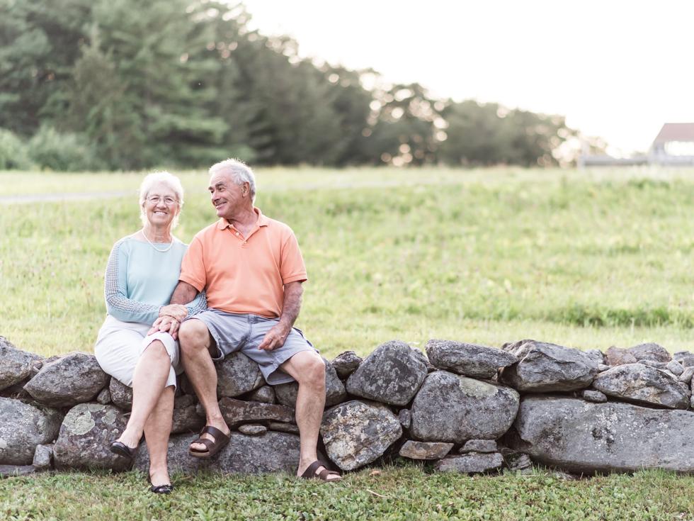 Grandparents portraits