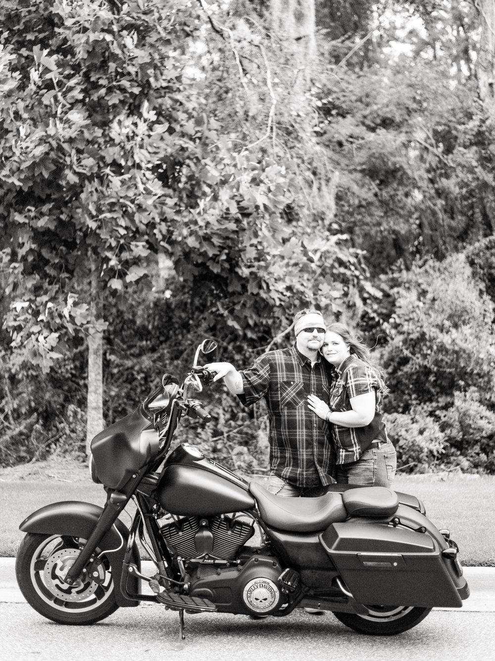 Harley Davidson Engagment