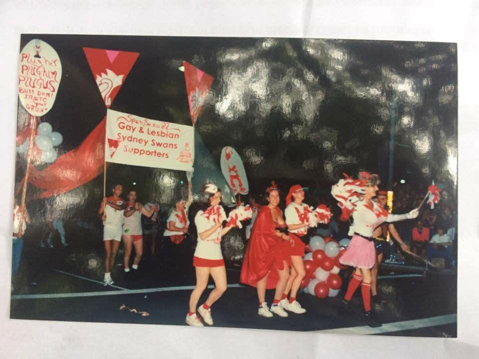 Rainbow Swans 1998 Mardi Gras.jpg