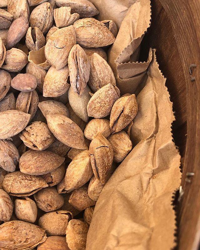 Market day #almonds #farmersmarket #local