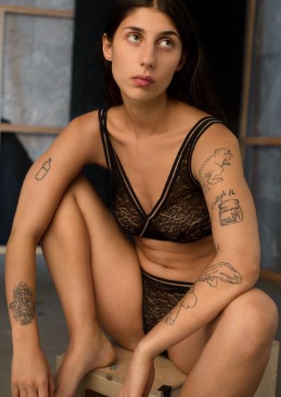 & Other Stories Underwear Model