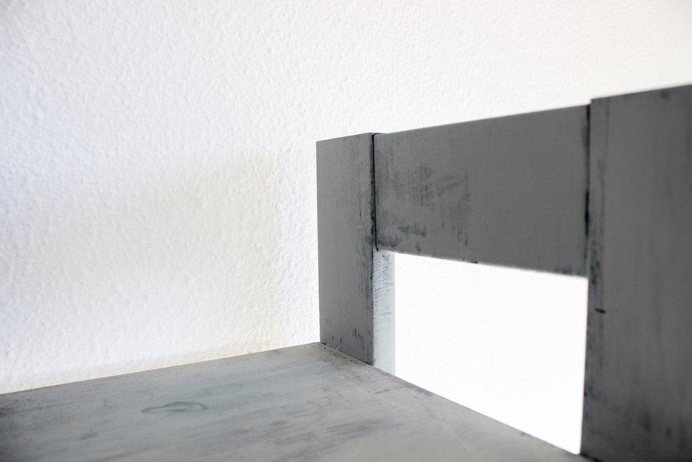 chalk paint shelves
