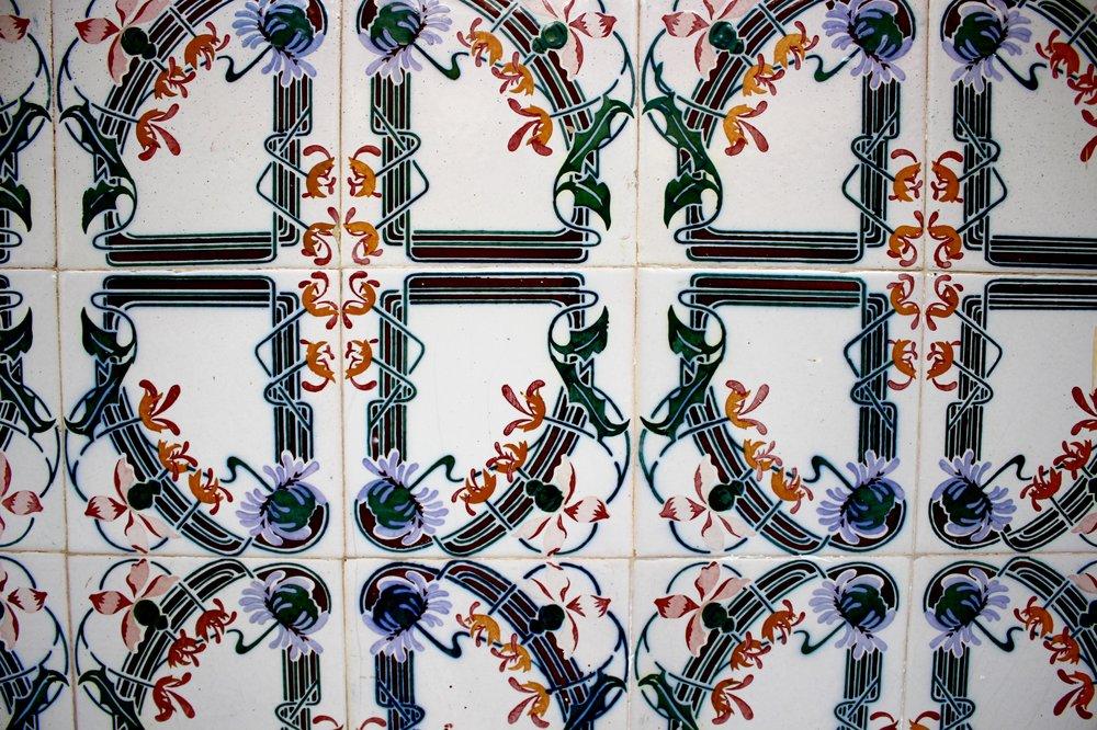 Tiles La Laguna Tenerife Spain