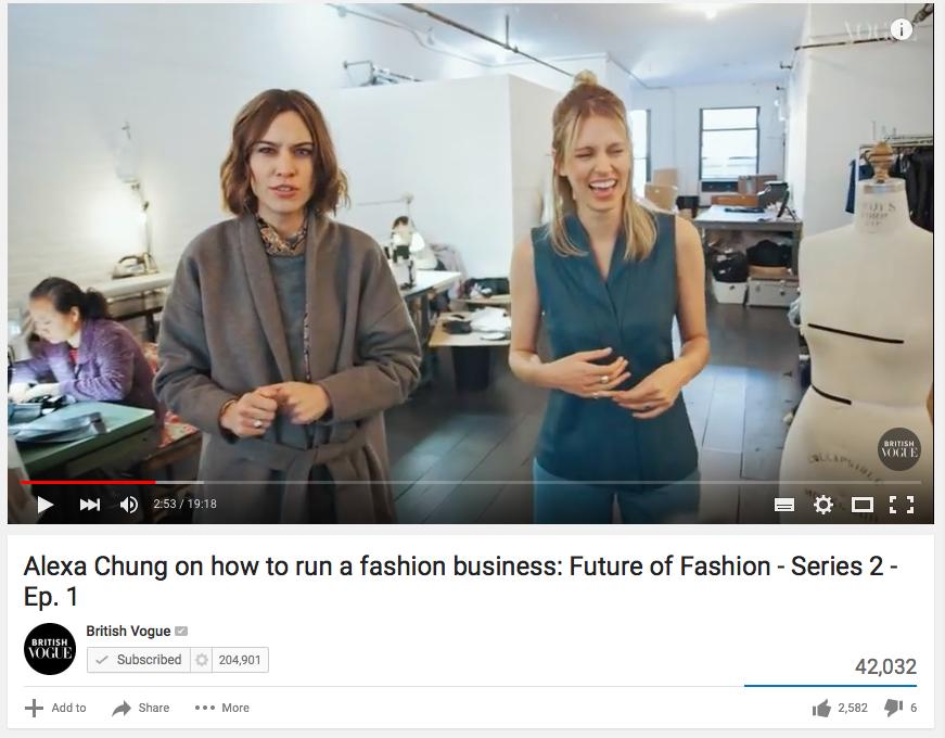 British Vogue YouTube