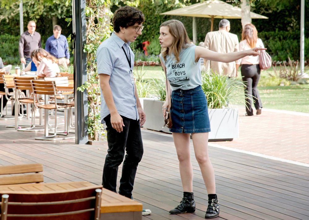 Love Netflix Mikey Outfit Style Denim Skirt