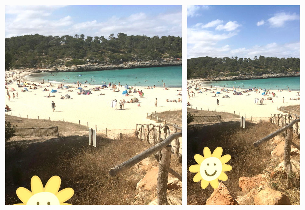 beach day Mallorca S'Amarador