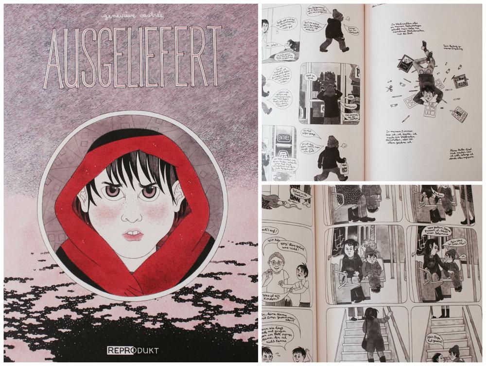 Geneviève Castrée Susceptible Graphic Novel