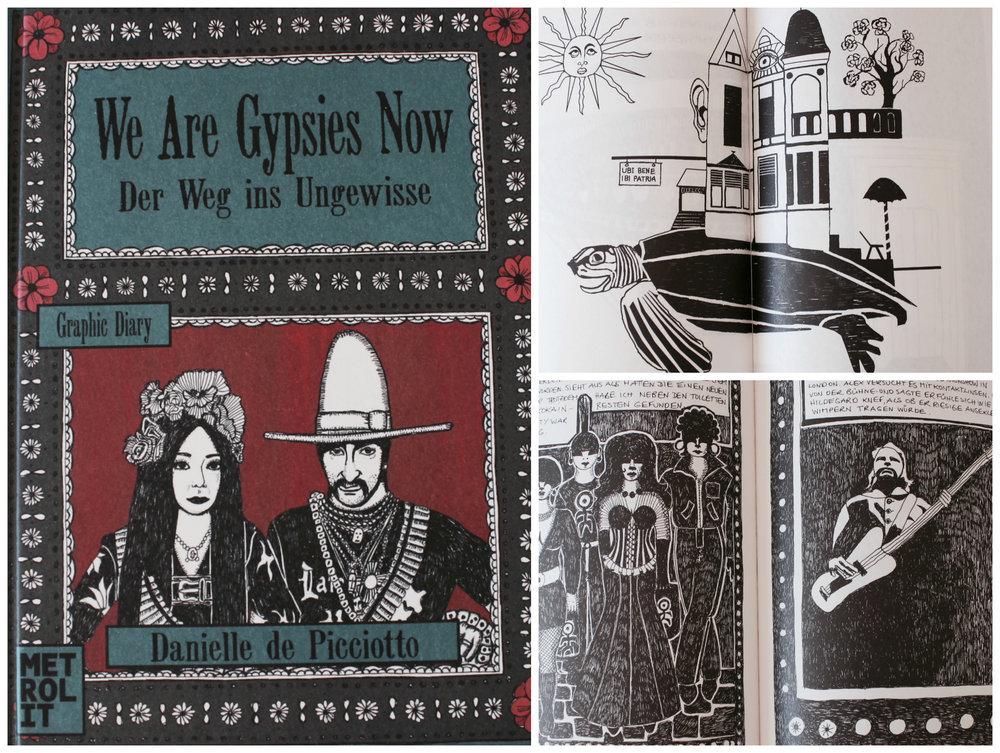 Danielle de Picciotto: We Are Gypsies Now Graphic Novel