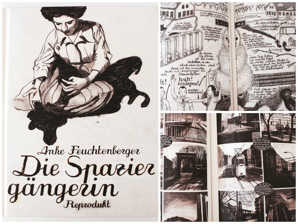 Anke Feuchtenberger Die Spaziergängerin Graphic Novel