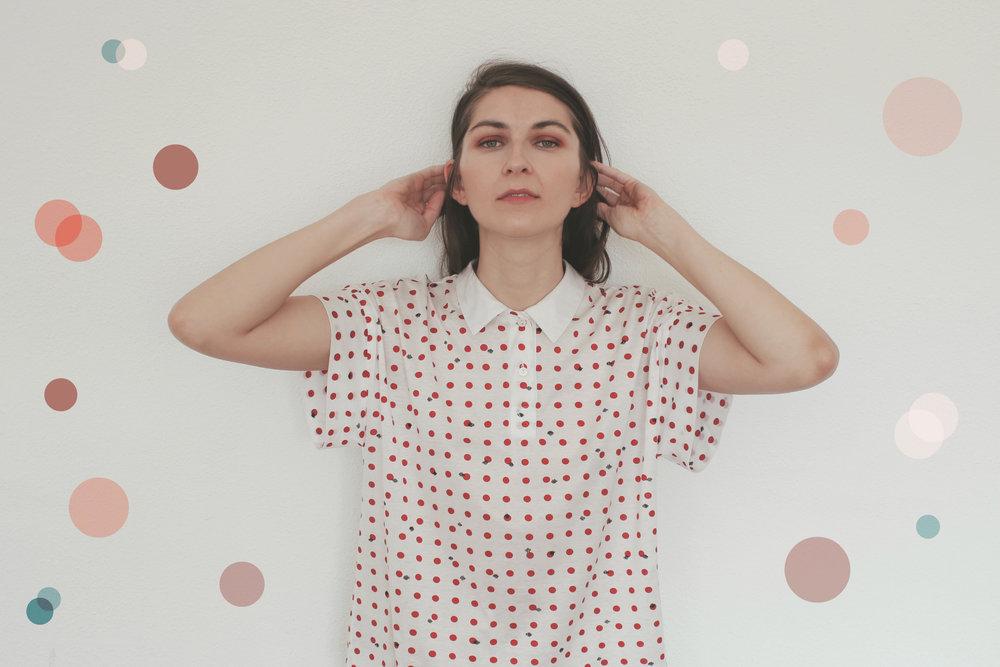 Vintage Polka Dots Shirt