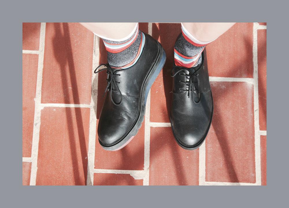 camper platform shoes