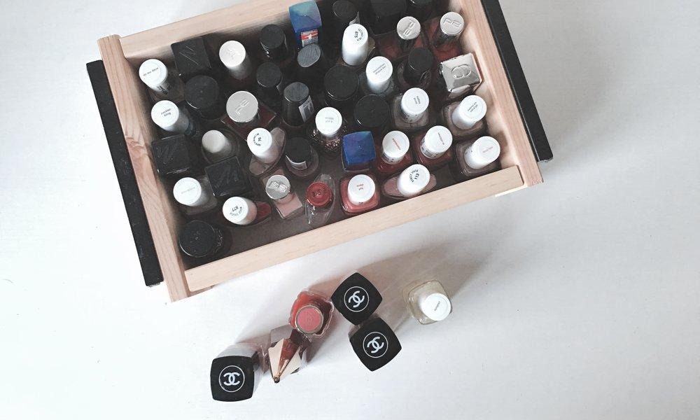stop shopping nail polish