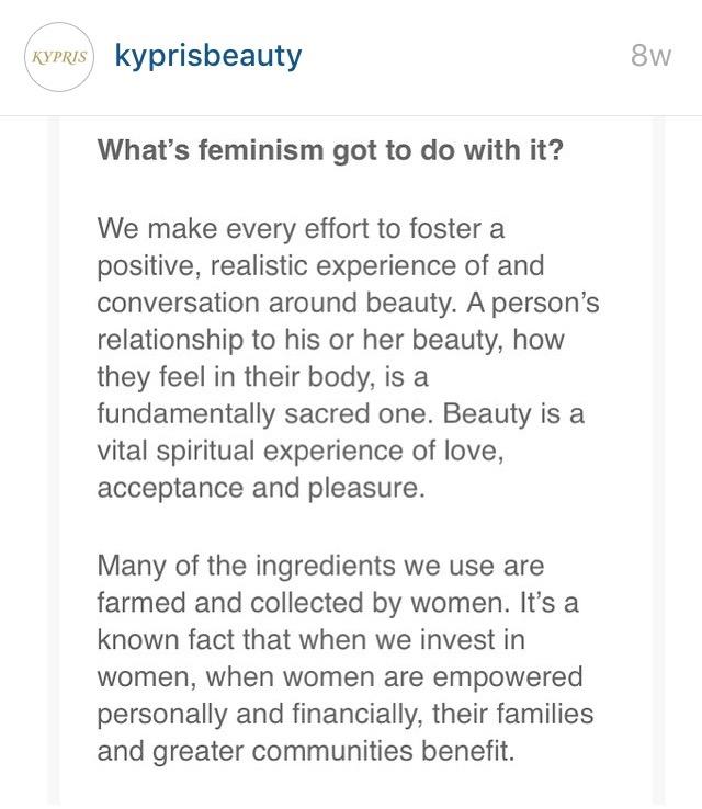 kypris feminism