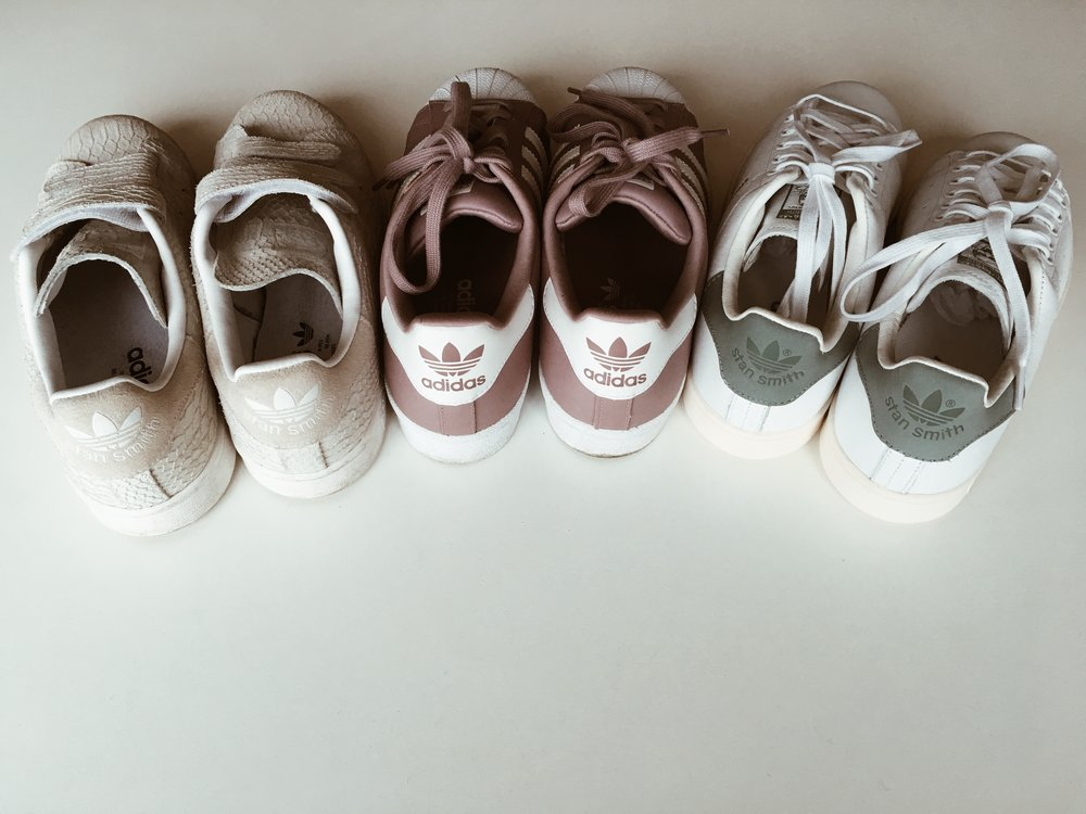 minimalism declutter shoes