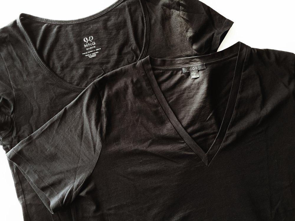 minimalism decluttering tshirts