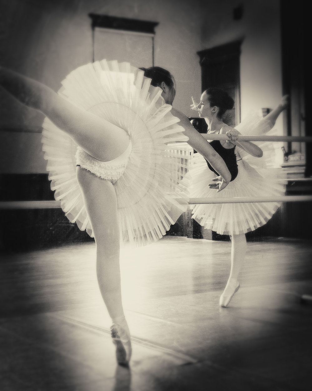 """""""Photographing dancers is an extremely difficult specialty niche. Bogdan did a beautiful job catching all the delicacy and strength of these young women. I was amazed and thrilled at his professionalism and ability to capture the spirit of Ballet."""" - Margaret Voss, Director, Chester Dancers"""
