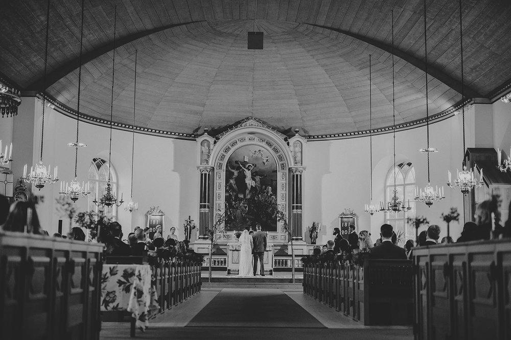Vigsel i Unnaryds kyrka
