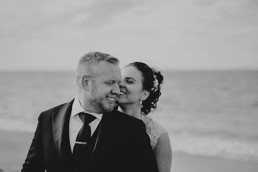 Stylad bröllopsfotografering på Island