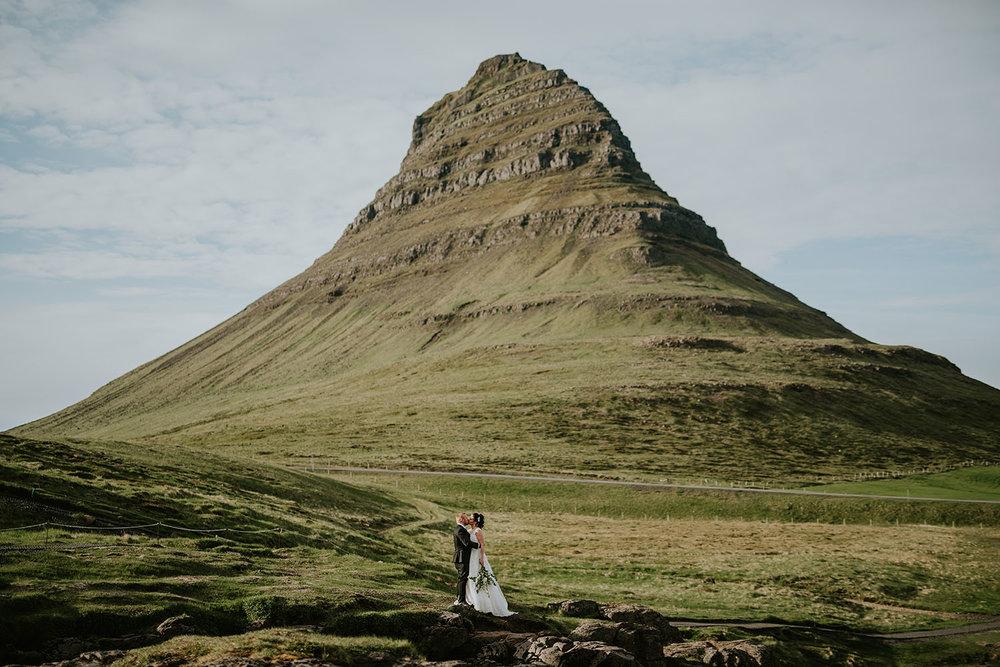 Styled wedding on Iceland with swedish wedding photographer