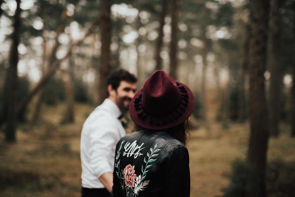 bohemiskt skogsbröllop -