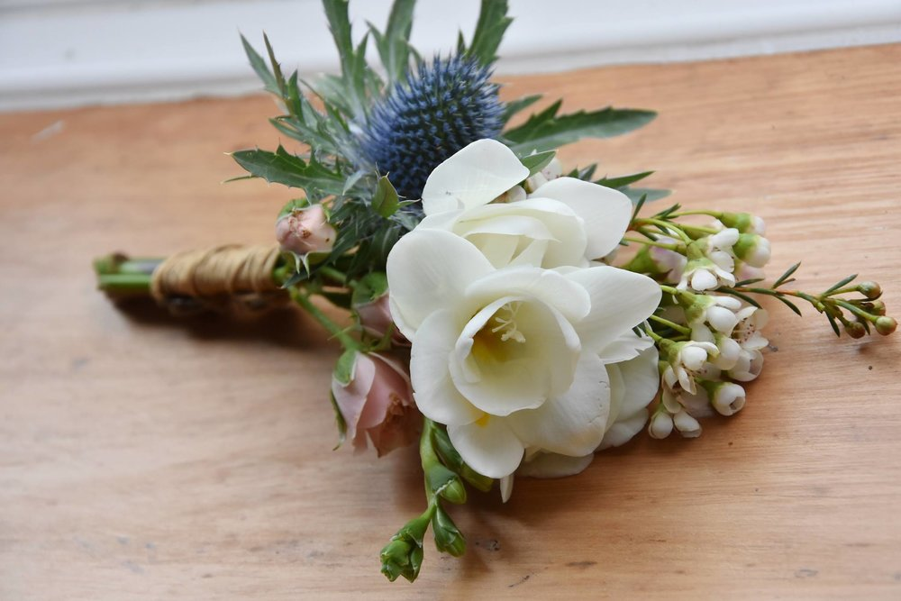 freesia and waxflower corsage.jpg