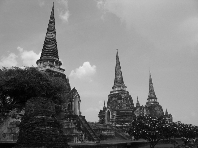 Buddhist Temples of Ayutthaya, Thailand.