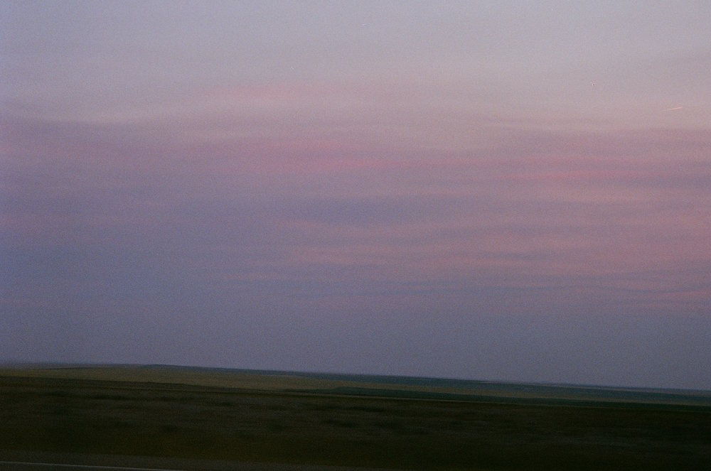 Landscape, Highway 87 , Summer 2018
