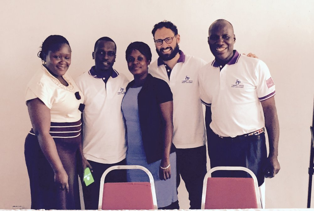 Implementing community service training in Uganda