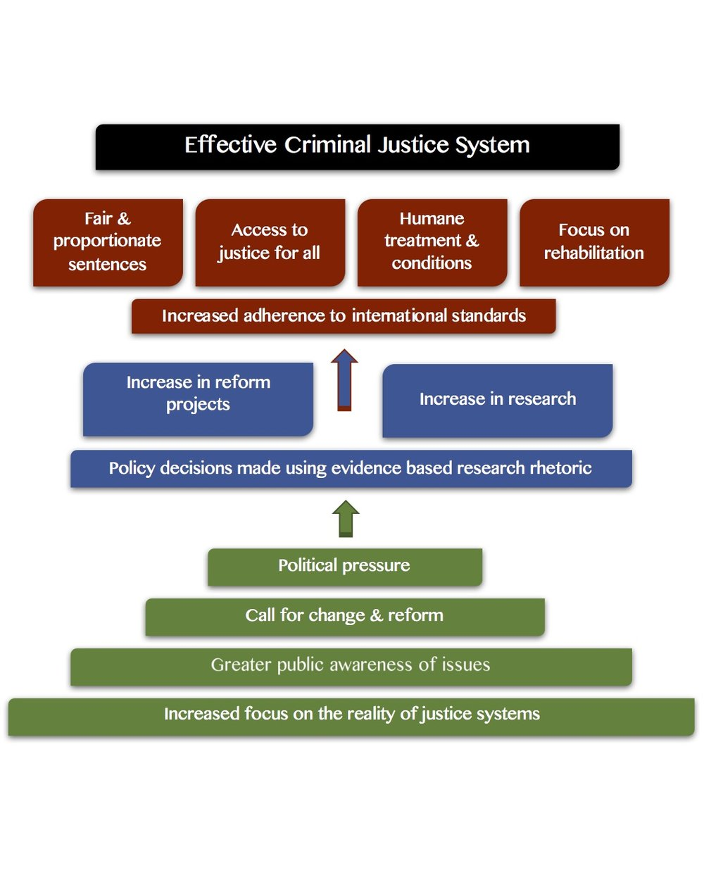 Justice Focus Theory of Change