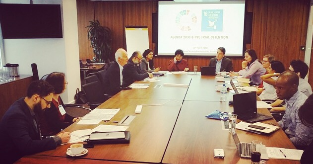 Roundtable Discussion on the 2030 Sustainable Development Agenda and Pretrial Detention