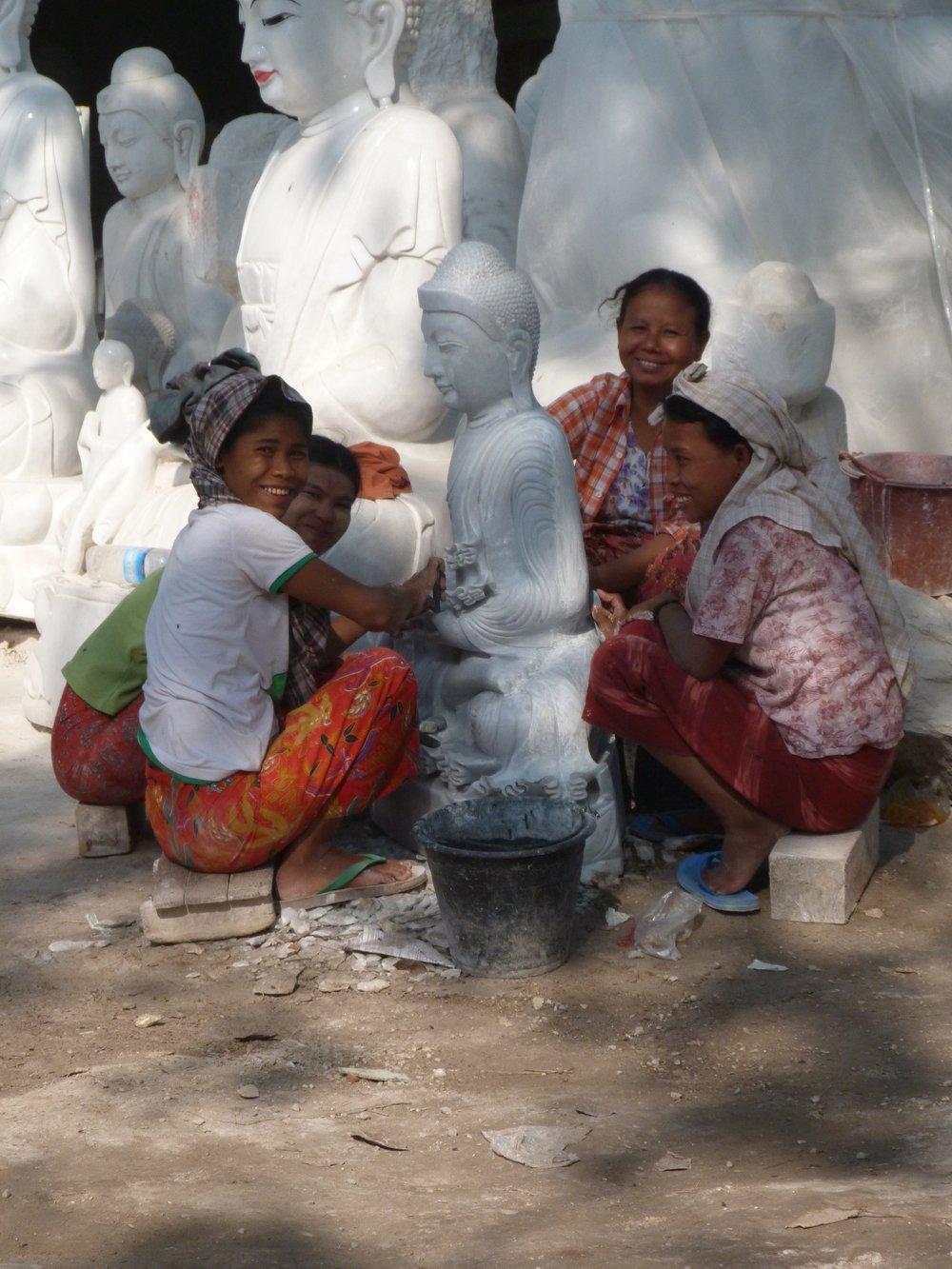 Inga Rasmussen_Buddha statue_£50 preparation.jpg