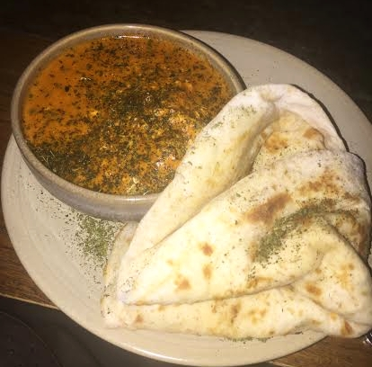 Buttered Chicken + Naan