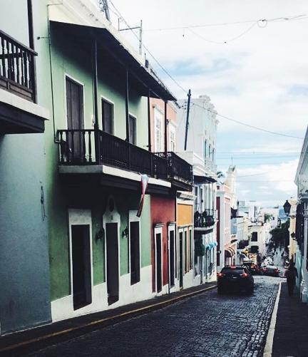Streets in San Juan