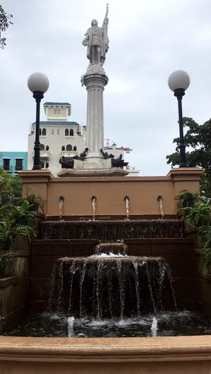 Fountain in Old San Juan