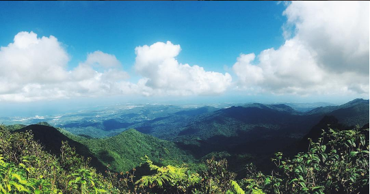 From the top of El Yunque