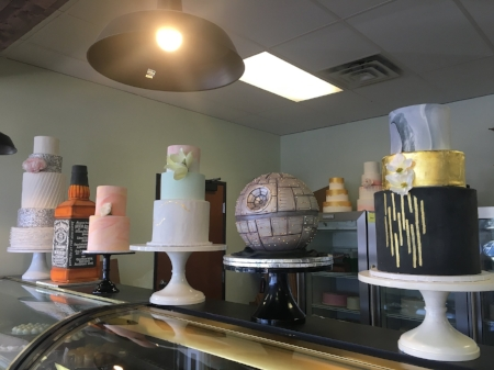 Cakes at Sweet Treets!