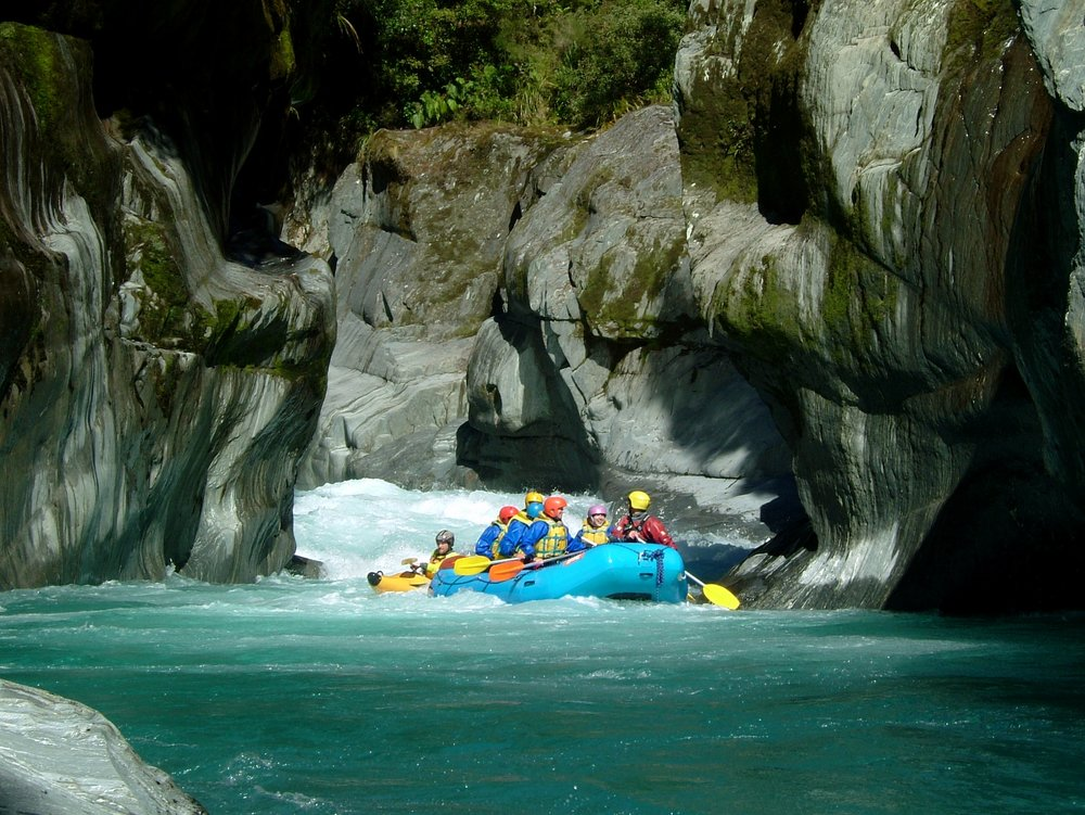 The cesspit gorge on the Arahura River, a special place few have visited and one of the highlights of my rafting career.