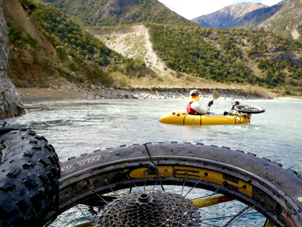 """Bikerafting is becoming the pursuit of choice by the worlds leading adventurers"""
