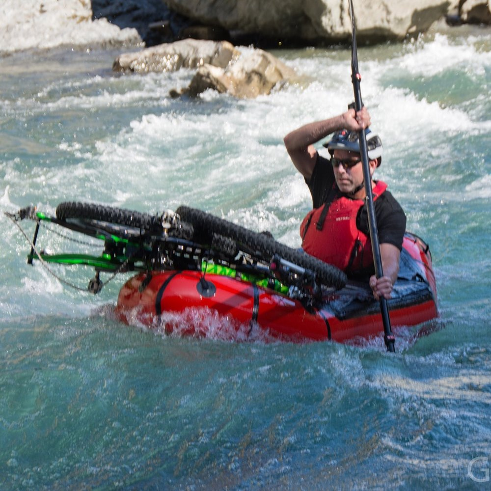"""""""Modern packrafts have the ability to carry large loads for extended journeys"""""""
