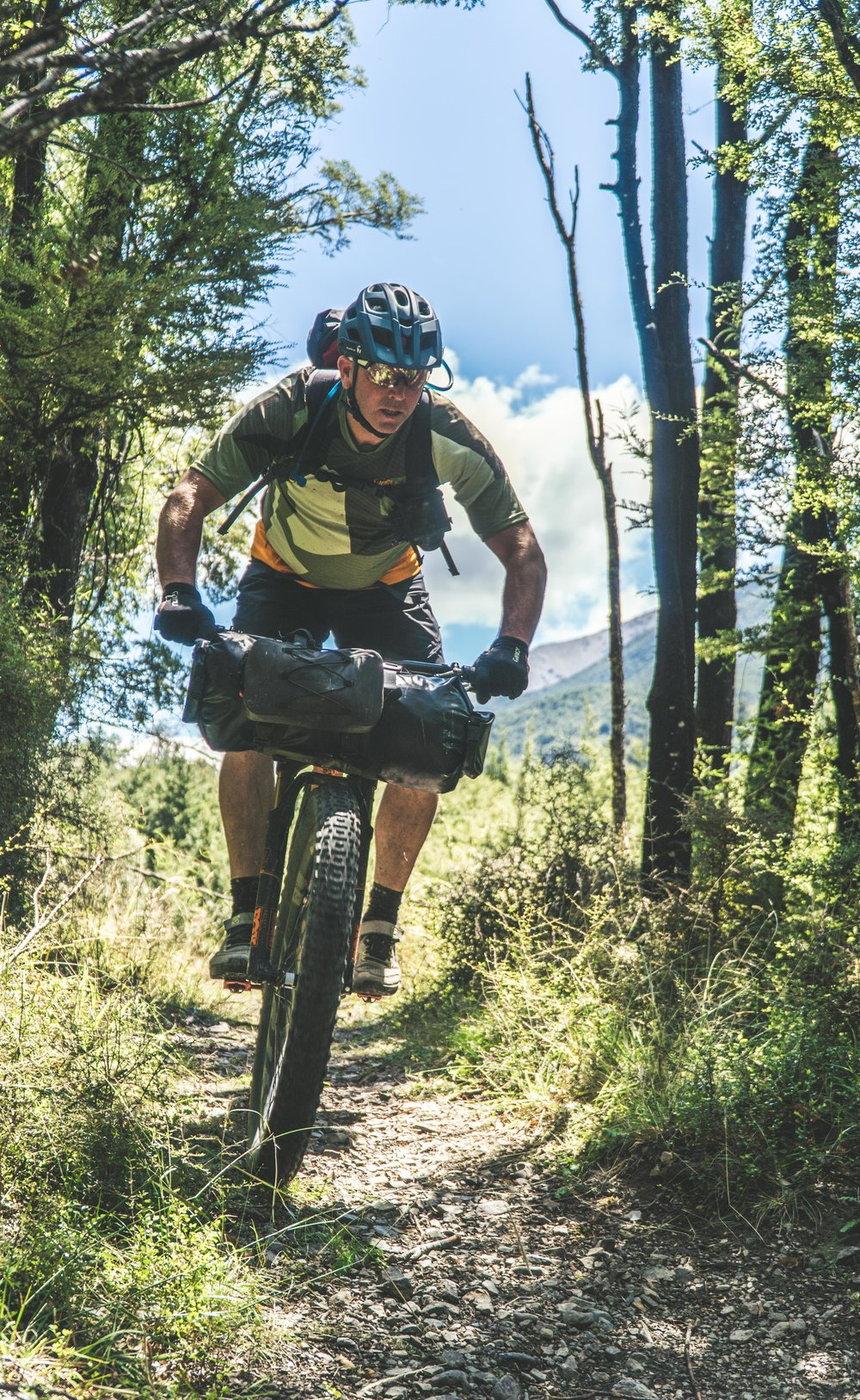 """Carrying packrafts, paddling gear and multi day equipment will be challenging on the almost 200km of technical singletrack """