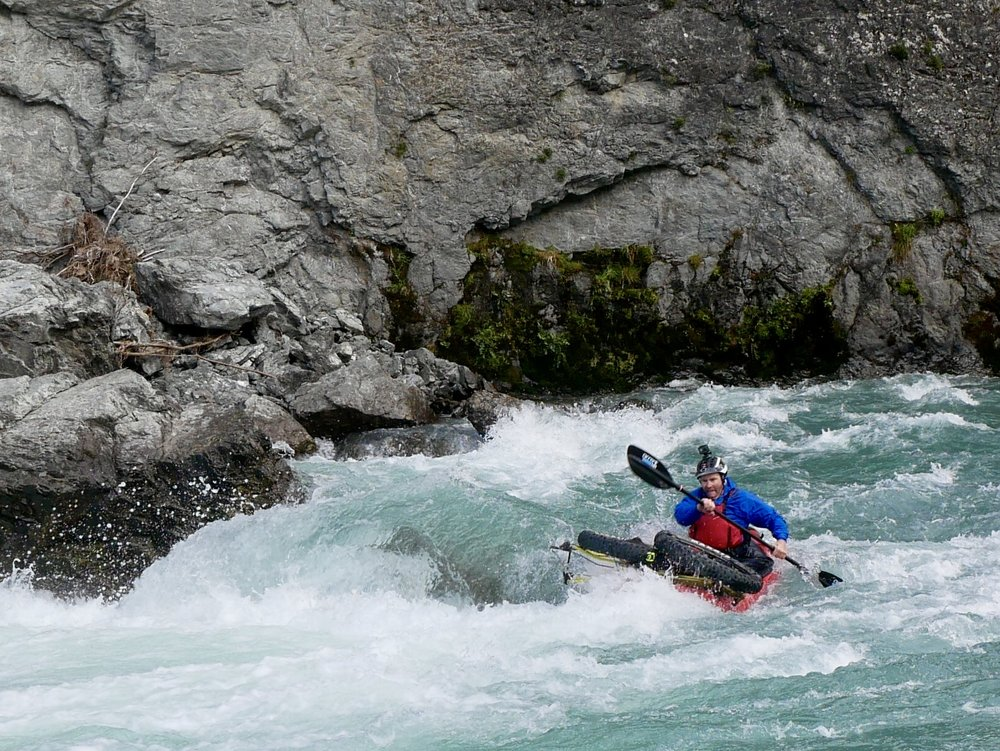 """The unique nature of singletrack and whitewater will be this expeditions point of difference """