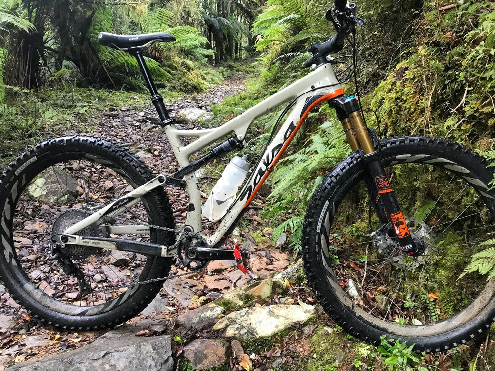 the Salsa Pony Rustler, ideal machine for technical trail.