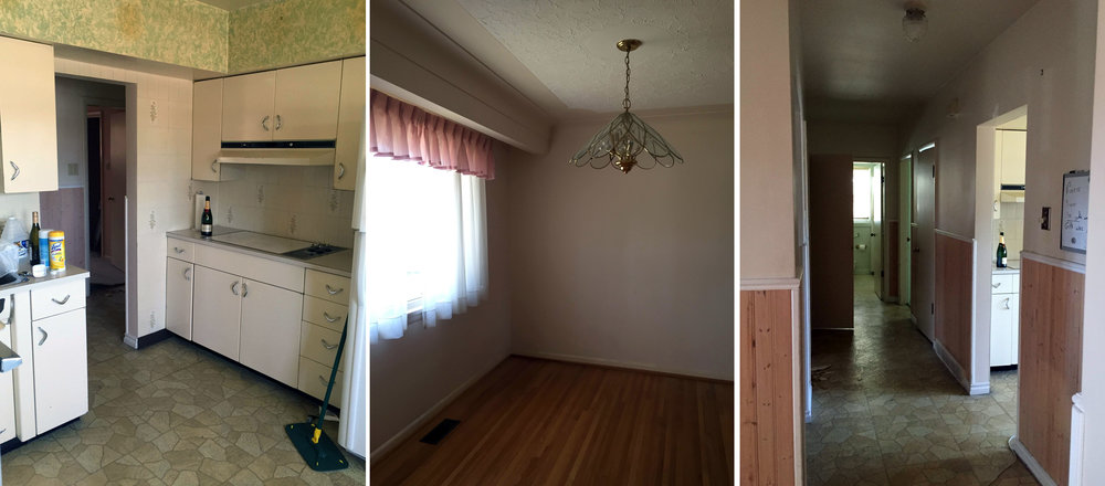 "These ""before"" photos (above) leave no question why an extensive renovation was required!"