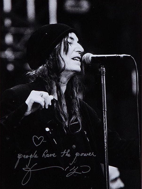 1. Patti Smith - 21 000 kr