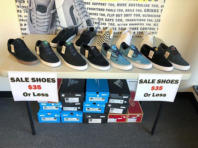 *$35 or Less* Swipe to get a better look at the shoes and sizing. We have some 7's, 8's, 8.5's, 9's, 11's, 11.5's, 12 and 13.
