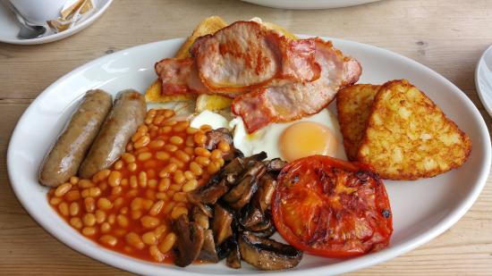 Crumbs Full English Breakfast! YUM!