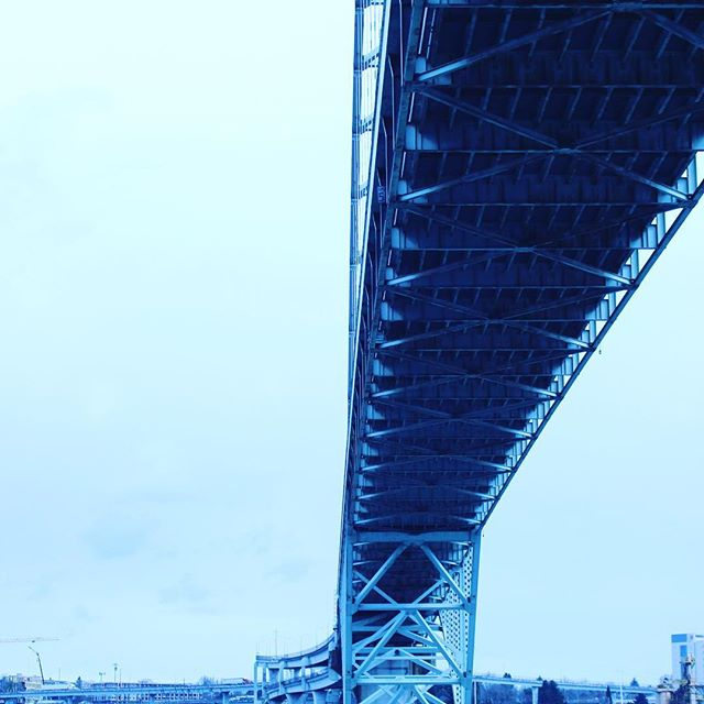 Our bridges in Portland hold us up everyday, when it's sunny or pouring, and we may forget to notice the strength and majestic sculpture of art all around us.