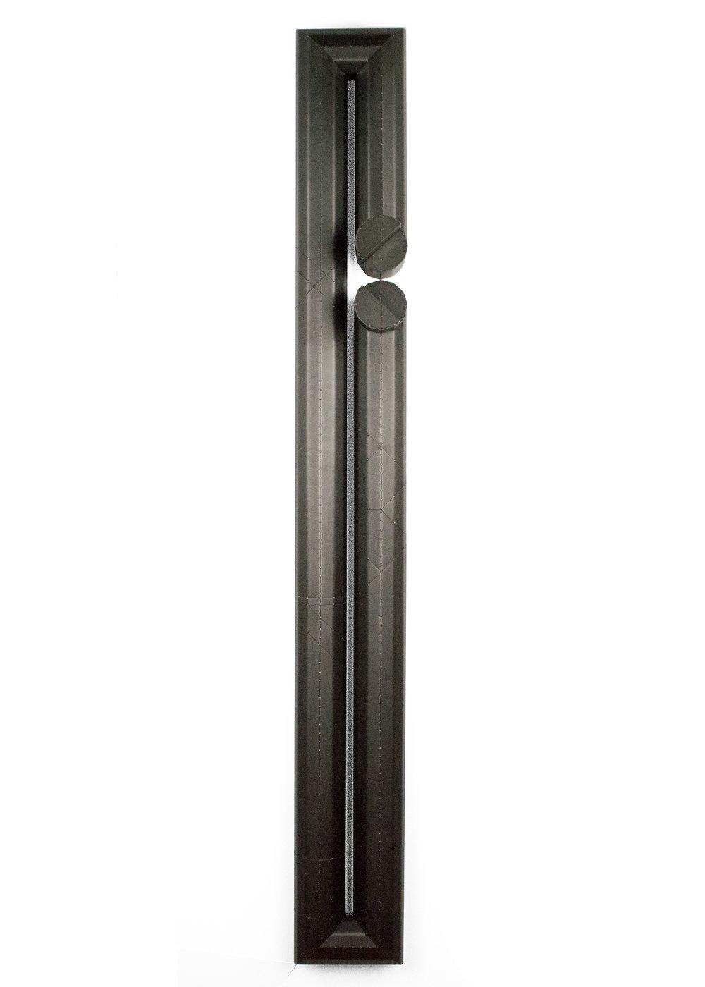 Long  54.5 x 6.5 x 5 in 3,200 blackened steel